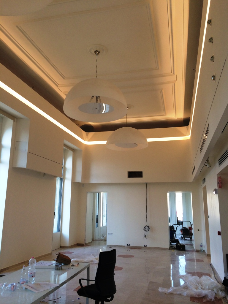 Soffitto cartongesso led: controsoffitti archives   impresa tumino ...